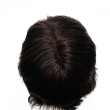 Load image into Gallery viewer, Fine Mono and PU Stock Base Realistic Men's Real Human Hair Wig