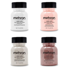 Load image into Gallery viewer, Mehron Liquid Latex Clear Flesh Beige Liquid Latex Make Up 1oz 4.5 oz 9oz 16oz
