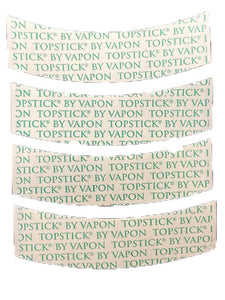 "Vapon Topstick Clear Hairpiece Tape Strips ""A"" Curve TSCB25"
