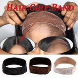 Adjustable Wig Grip Headband Wig Non-Slip Wig Grip Band Brown/Black/Blonde