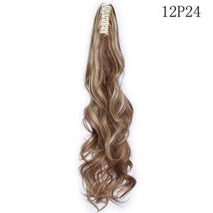 Ponytail Hair Extension Hairpiece Synthetic Hair