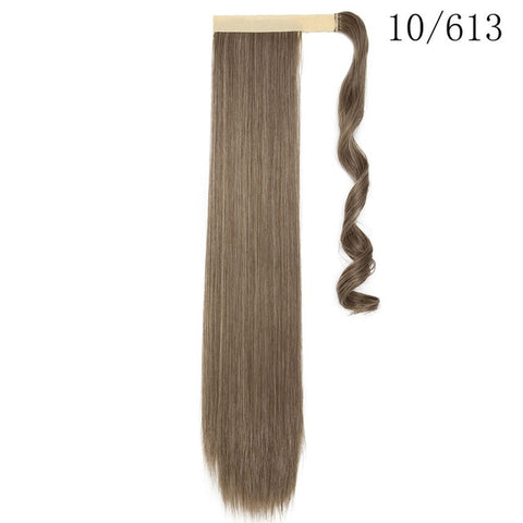 Ponytail Hair Extensions Synthetic Straight Hair-Apexhairs