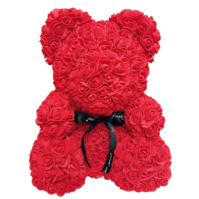 Large Red Rose Bear Flowers Rose Bear Rose Teddy Bear Best Gift for Valentines Day 10