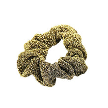Load image into Gallery viewer, Gold And Silver Bling Glitter Hair Scrunchie Elastic Hair Bands Women Ladies Fashion Hair Accessories Ties Rope Band For Dancing