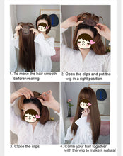 Load image into Gallery viewer, Clip On Hair Topper For Women