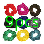 20/15/9 PCS Hair Scrunchies Velvet Elastic Hair Bands Scrunchy Ties Ropes Scrunchie for Women or Girls Accessories