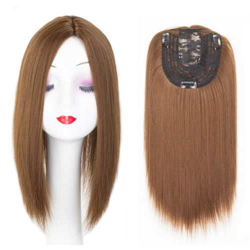 Clip On Hair Topper For Women