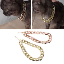 Load image into Gallery viewer, Cuban Link Thick Gold Chain Pets Safety Collar