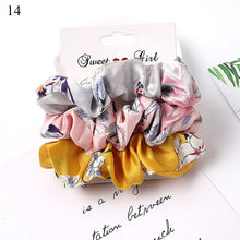 Load image into Gallery viewer, 4-6 PCS Scrunchies Hair Ring Candy Color Hair Ties Rope Autumn Winter Women Ponytail Hair Accessories  Girls Hairbands  1 - Set
