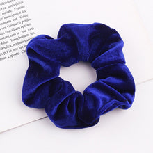 Load image into Gallery viewer, Women's Velvet Scrunchies Elastic Hair Bands Scrunchy Hair Ties 1 Pcs/Pack