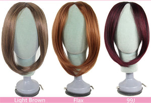 Hair Bang Women Clip-in Middle Part