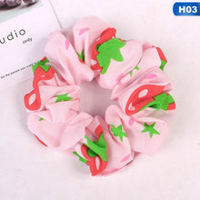 Load image into Gallery viewer, Fashion Hair Accessories Women Flower Scrunchies Pack Elastics Hair Bands For Girls