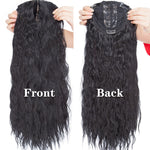 Curly Hair Toppers Long Wavy Hair One Hairpiece 20""