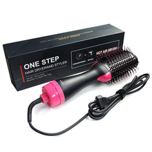Load image into Gallery viewer, One-Step Volumizer Hair Dryer Hot Brush Blow Drier