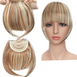 Clip-on Bang Hair Extension