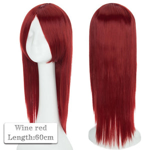 80cm Long Cosplay Wig Synthetic Anime Hair for Women