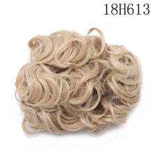 Load image into Gallery viewer, Synthetic Hair Big Bun Chignon Two Plastic Comb Clips
