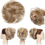 Messy Bun Hairpiece Elastic Band Curly Scrunchie Updo