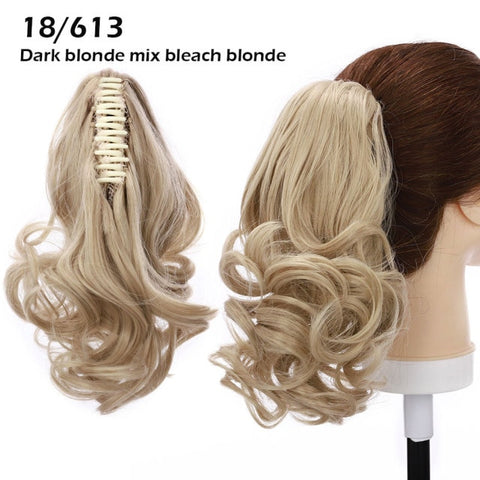 clip on ponytail hair styles