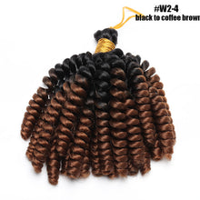 Load image into Gallery viewer,  Jamaican Bounce Curl Crochet Hair Jumpy Wand Curl-1 Pack
