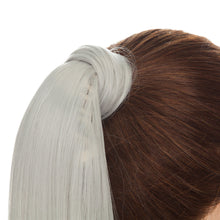 Load image into Gallery viewer, Wrap Around Ponytail Extension Sliver Gray Hair Color For Women