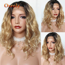 Load image into Gallery viewer, Short Bob Lace Front Wigs Pink Color Wig Heat Resistant
