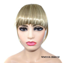 Load image into Gallery viewer, Blunt Bangs Hairpieces Clip In Thin Fake Fringes