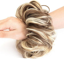 Load image into Gallery viewer, Real Hair Messy Bun Scrunchie Curly 1PCS For Women