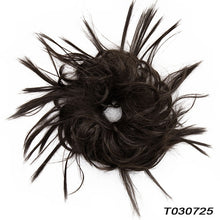 Load image into Gallery viewer, Messy Hair Bun Hairpiece Fluffy Hair Bun Extension 1 Piece