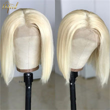 Load image into Gallery viewer, 613 Honey Blonde Bob Wig Brazilian Hair