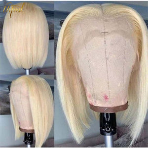 613 Honey Blonde Bob Wig Brazilian Hair