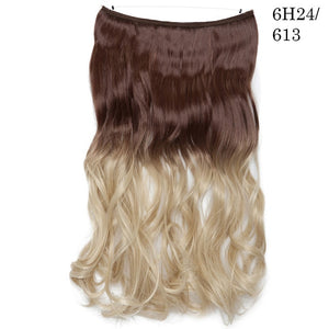 Layered Hair Extensions No Clip No Tape