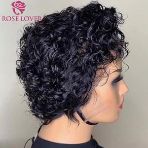 Short Hair Pixie Cut Lace Front Wig