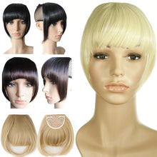 Load image into Gallery viewer, Straight Bangs Hair Extensions Heat Resistant Synthetic Hair-Apexhairs