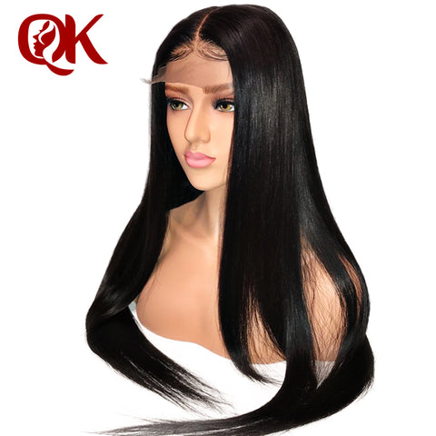 Brazilian Straight Remy Human Hair Lace Front Wig-Apexhairs