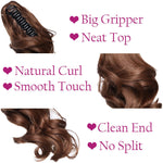 Claw Clip Short Ponytail Hairpiece Extension Wavy