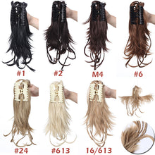 Load image into Gallery viewer, Braids Claw Clip Ponytail Clip In Hair Extensions Hairpieces