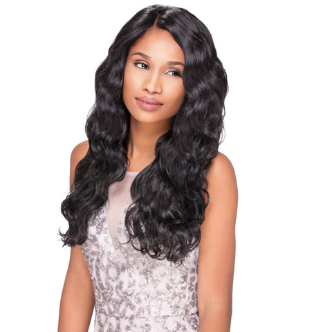 Sensationnel Empress Custom Lace Front Edge Wig Body Wave
