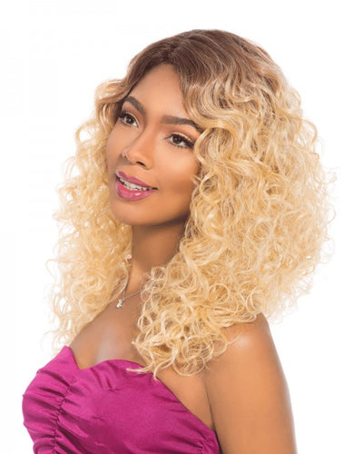 Sensationnel Empress Lace front Edge Wig 2 Way L Shape Part ARIEL
