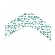 "Load image into Gallery viewer, Vapon Topstick Clear Hairpiece Tape Strips ""B"" Curve TSF25"