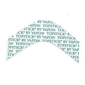 "Vapon Topstick Clear Hairpiece Tape Strips ""B"" Curve TSF25"