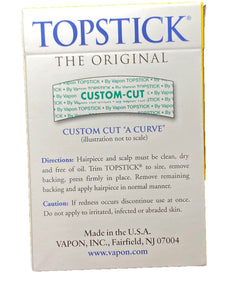 Vapon Topstick Clear Double Sided Hairpiece Men's Grooming Hair Tape