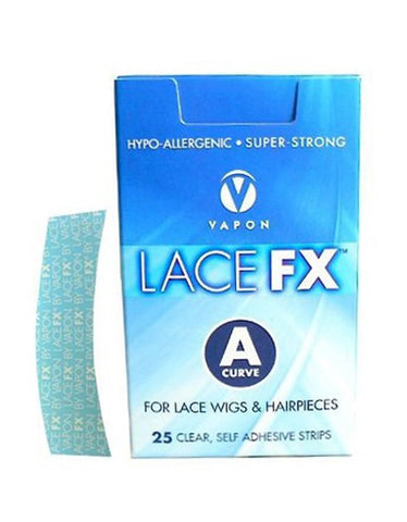"Vapon Lace FX Tape Strips ""A"" Curve FXA25"