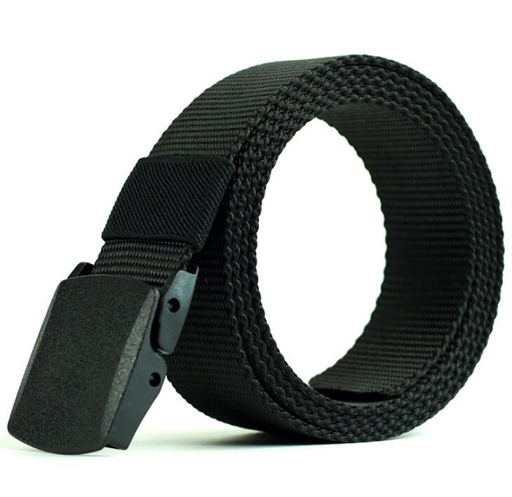 Clothing - Casual Military Grade Polymer Buckle Nylon Belt (3 colors)