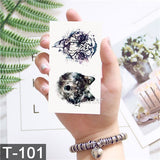 Stylewear - Geometry cool Temporary Tattoo Sticker  (25 variants))
