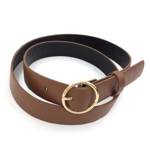 Clothing/Belt - Round Buckled Belt