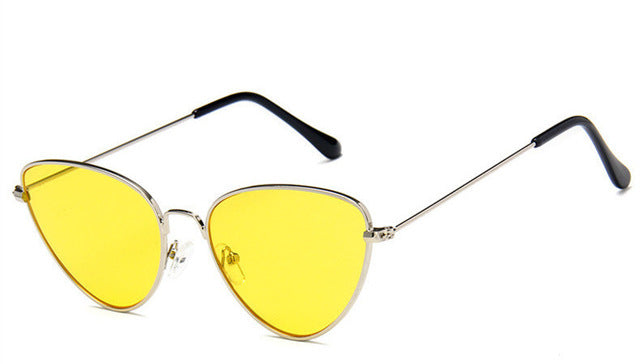 Eyewear - Trendy Tinted Color Vintage Shaped (7 colors)