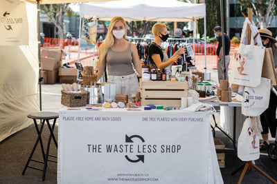 The Waste Less Shop is Going to Market