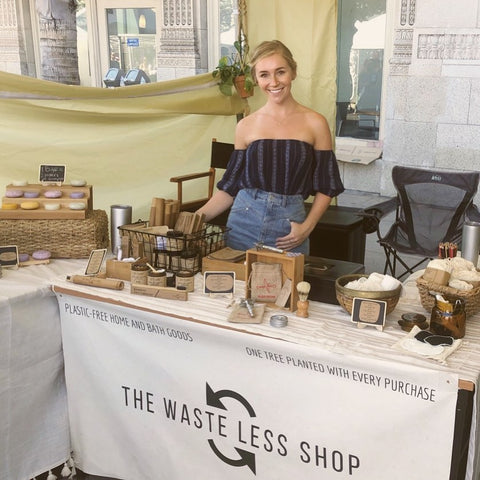 Stephanie Cochrane The Waste Less Shop Zero Waste LA