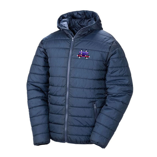 TRG Navy Padded Jacket